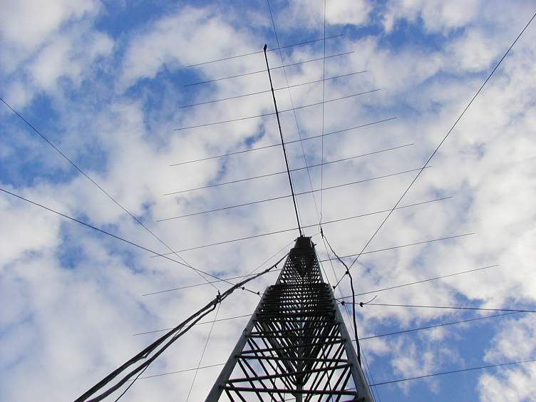 The Tower and Antenna of W5UDX!